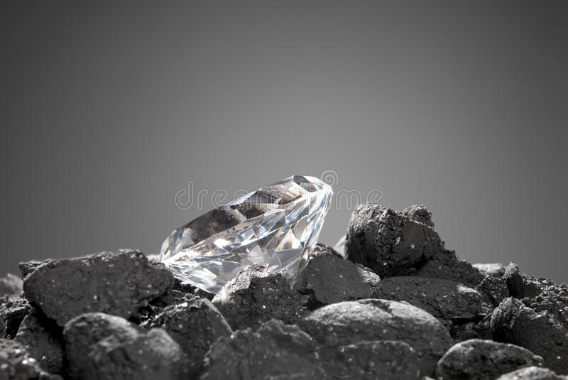 Diamante nel di massima immagini stock
