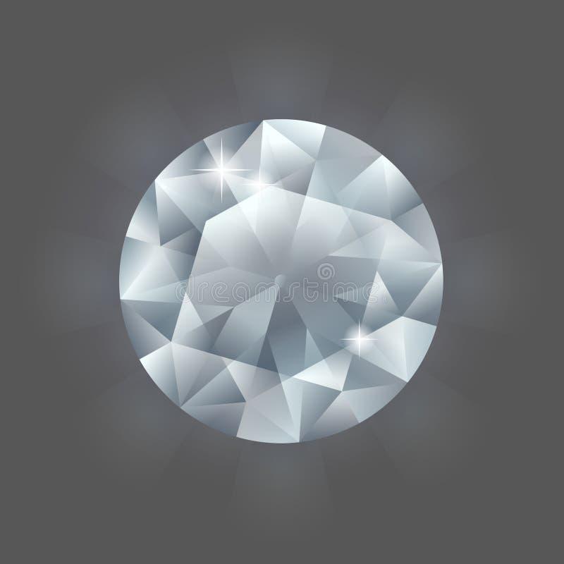 Diamante redondo libre illustration