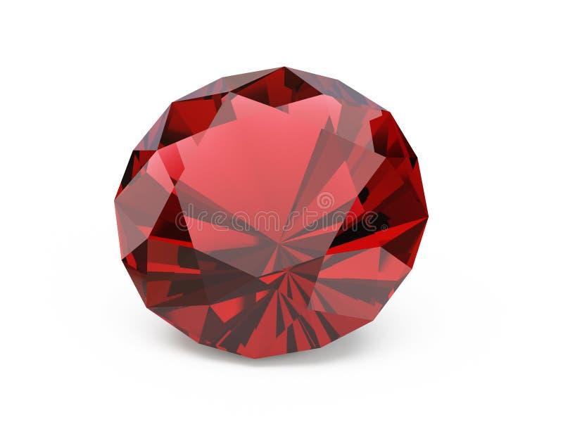 Diamante (rubino) immagine stock libera da diritti
