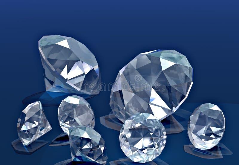 Diamanten vektor abbildung