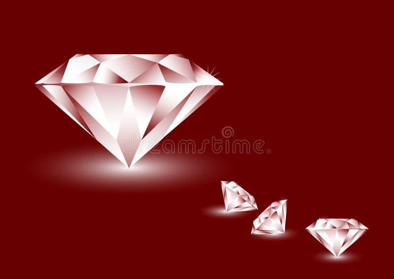 Diamanten royalty-vrije illustratie