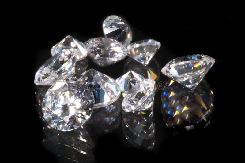 Diamanten royalty-vrije stock foto's