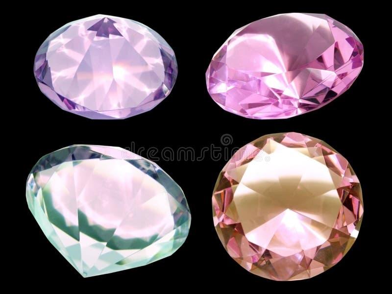 Diamanten stockfotografie