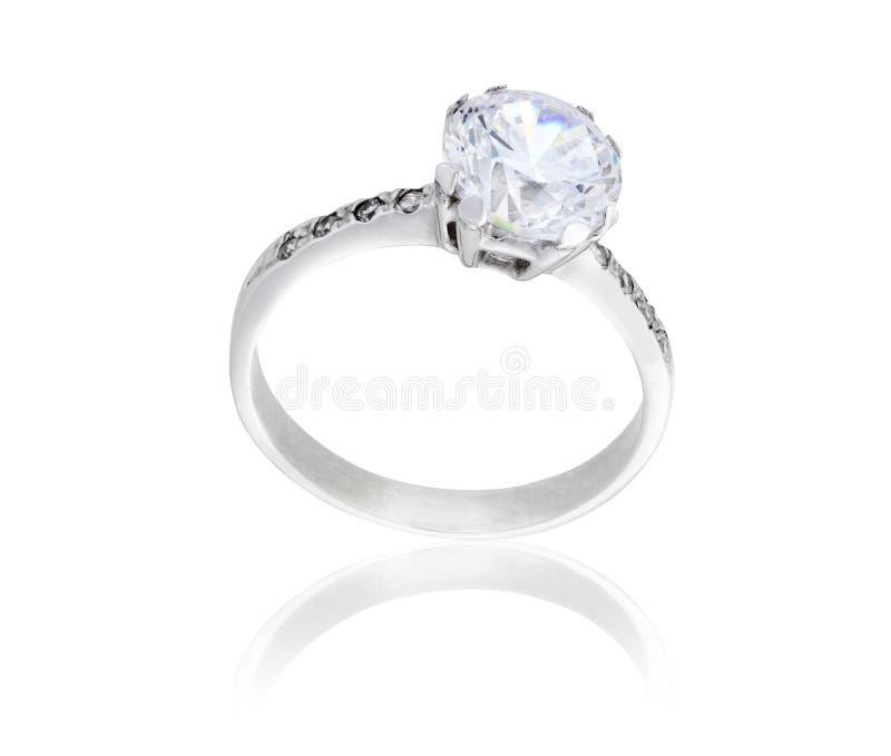 Diamanten ringer arkivfoto