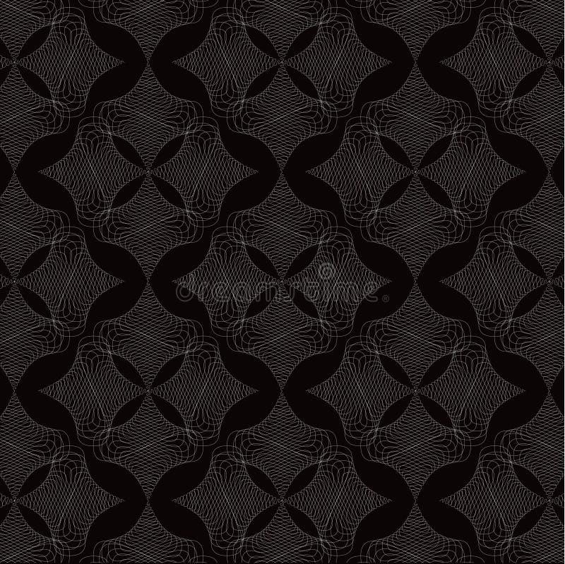 diamanten snör åt twistwhite vektor illustrationer