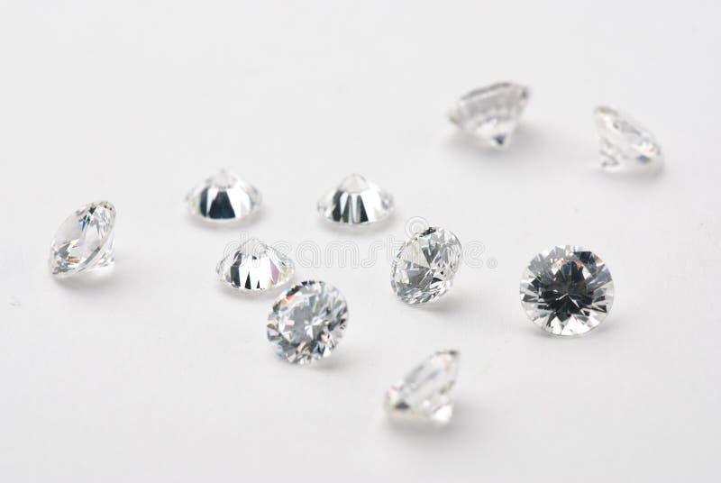 diamanter arkivbild