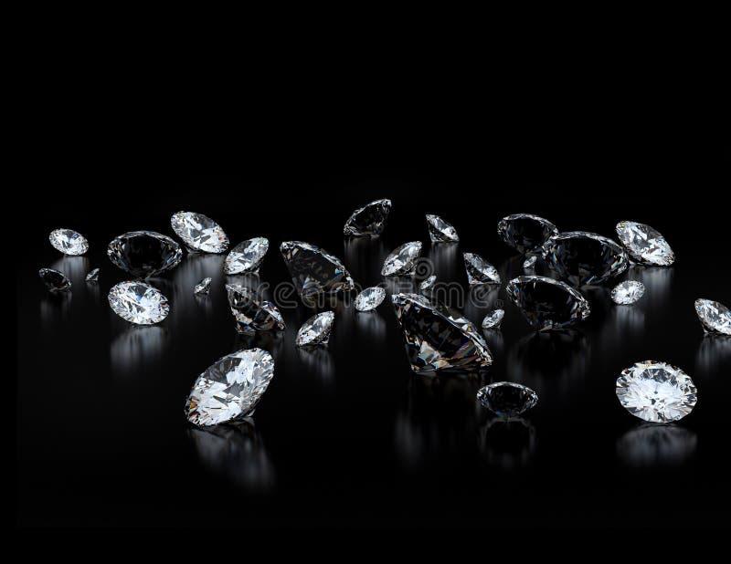 diamanter stock illustrationer