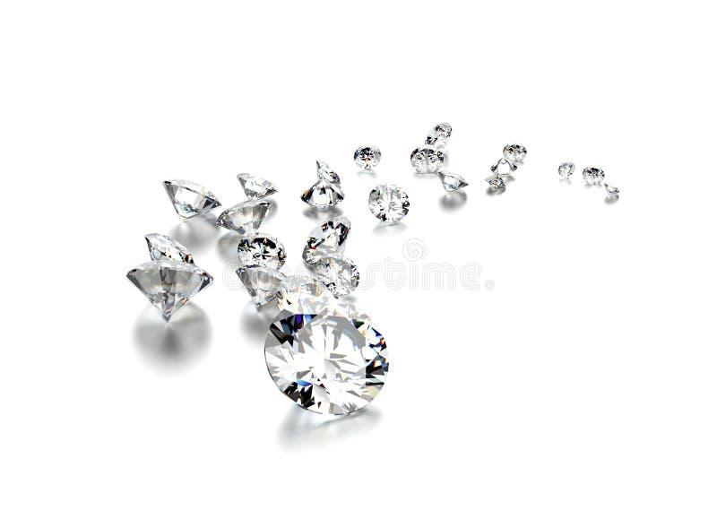 diamanter för tygguld för bakgrund svart silver för smycken royaltyfri bild