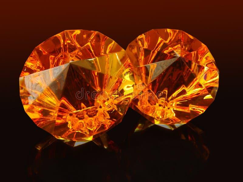 Diamanter Ii Arkivbilder