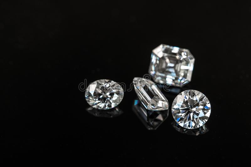 diamanter arkivfoto