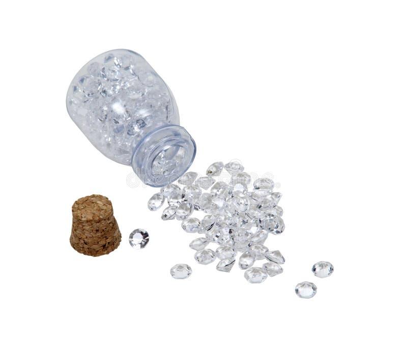 diamanter skakar litet
