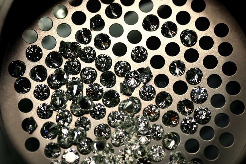 Diamantes fotografia de stock royalty free