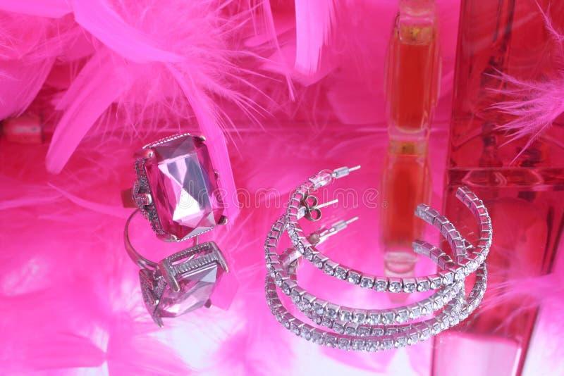 Diamantes atractivos fotografía de archivo libre de regalías