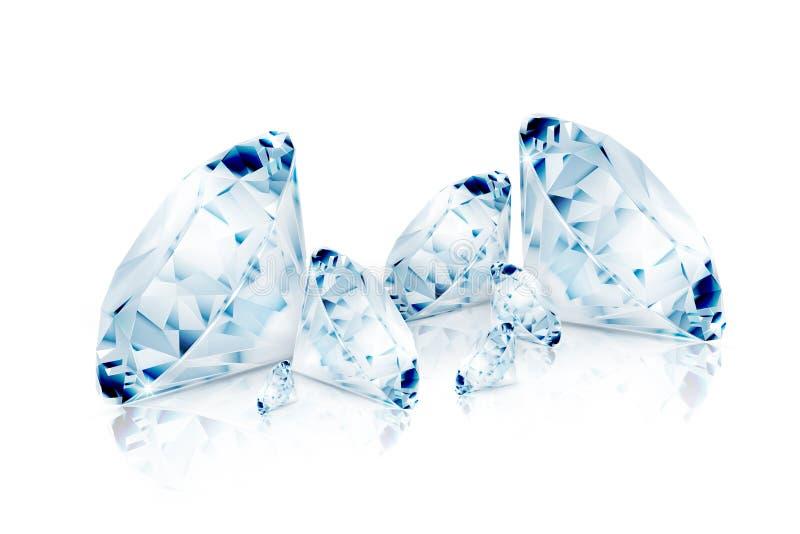 Diamantes azules libre illustration