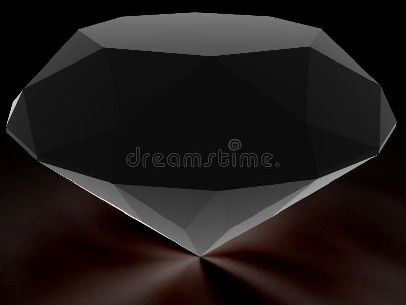 Diamantes do canal alfa. ilustração royalty free