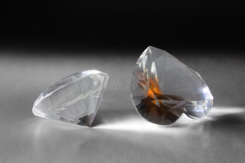 Diamantes grandes fotos de stock