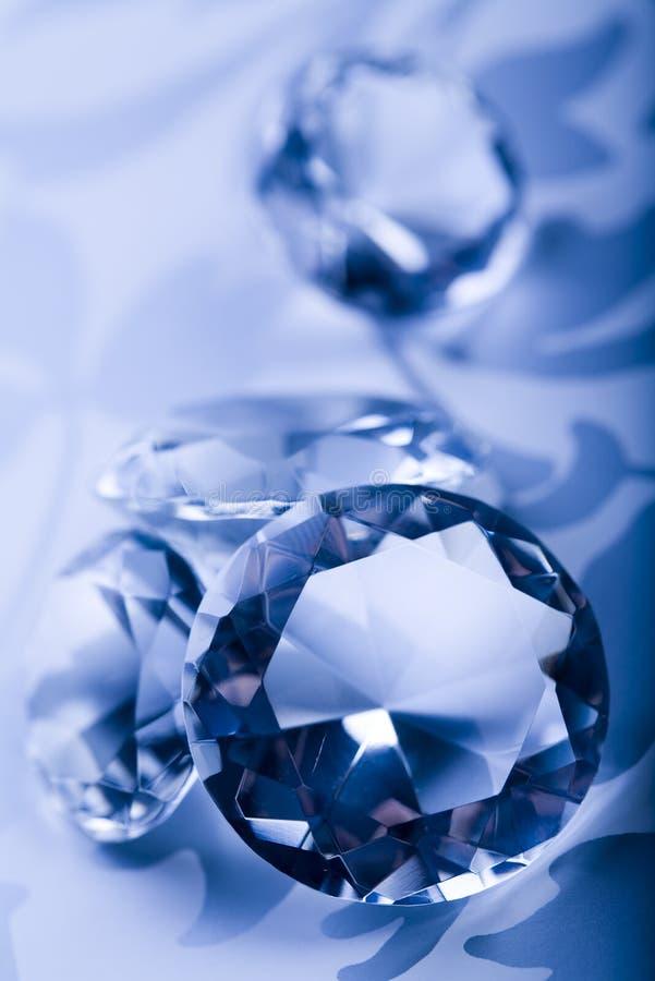 Diamantes - piedras preciosas - joyas fotografía de archivo