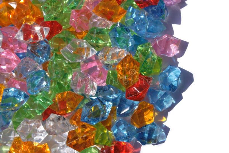 Diamantes plásticos imágenes de archivo libres de regalías