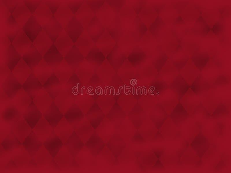 Diamantes remolinados rojos fotos de archivo libres de regalías