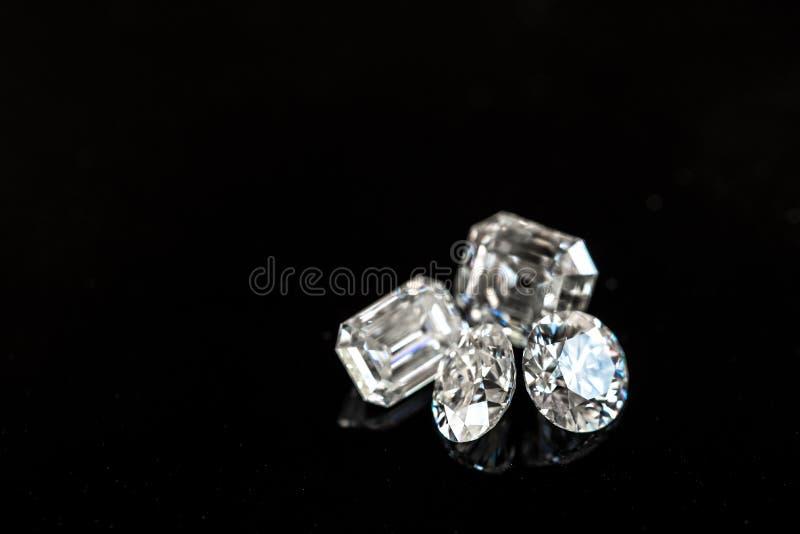 Diamantformer arkivbild