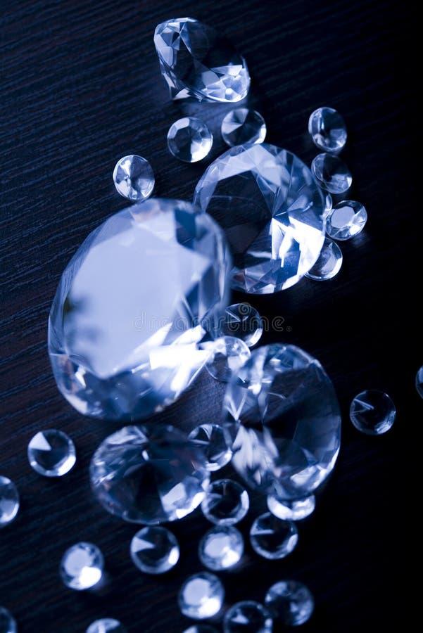 Diamanthintergrund lizenzfreies stockfoto