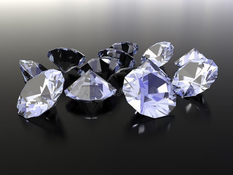 Diamanti fotografie stock libere da diritti