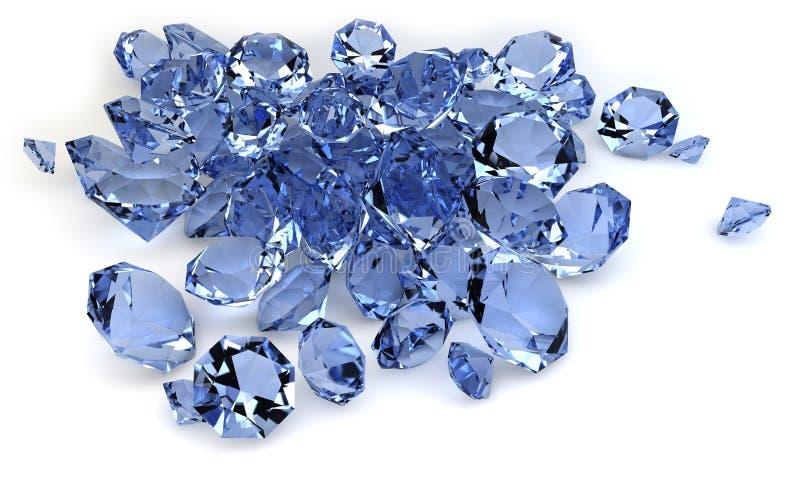 Diamanti royalty illustrazione gratis