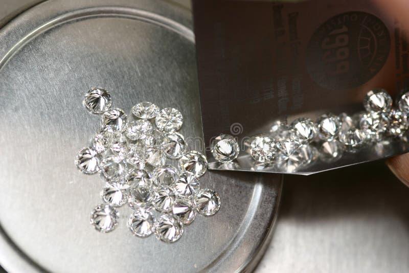 Diamanti fotografie stock