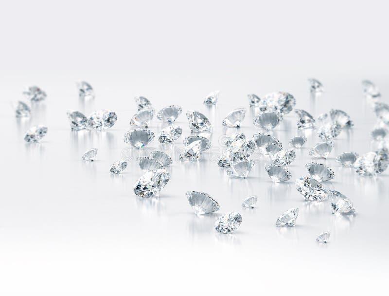 Diamanti illustrazione vettoriale