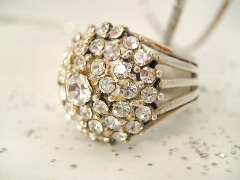 Diamanti decadenti fotografia stock libera da diritti