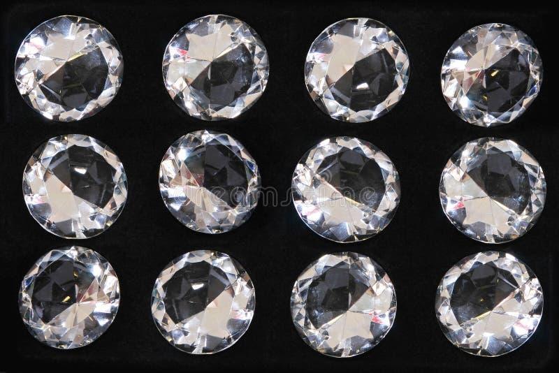 Diamanti della gemma immagine stock libera da diritti