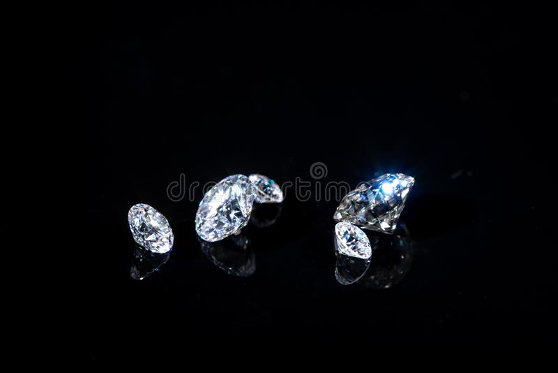 Diamanti di lusso fotografia stock