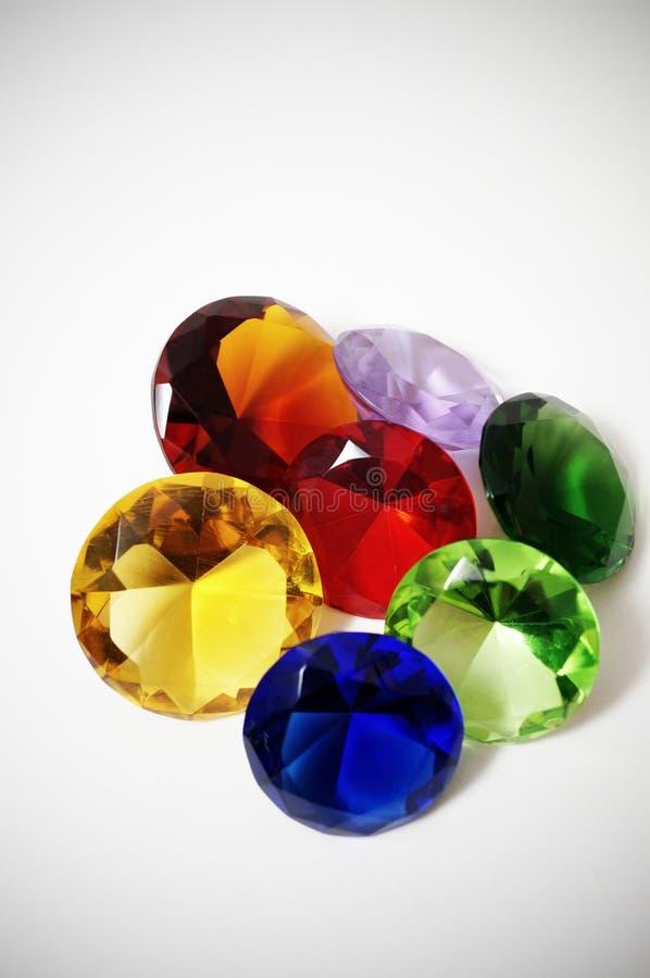 Diamanti di vetro fotografie stock libere da diritti