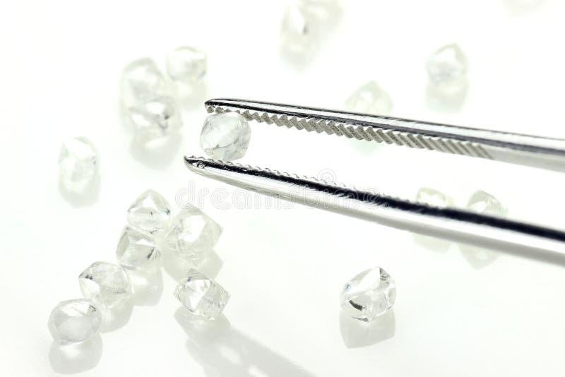 Diamanti grezzi 06 immagini stock libere da diritti