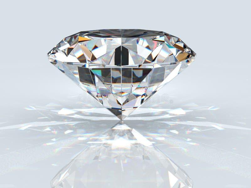 diamantjuvel stock illustrationer