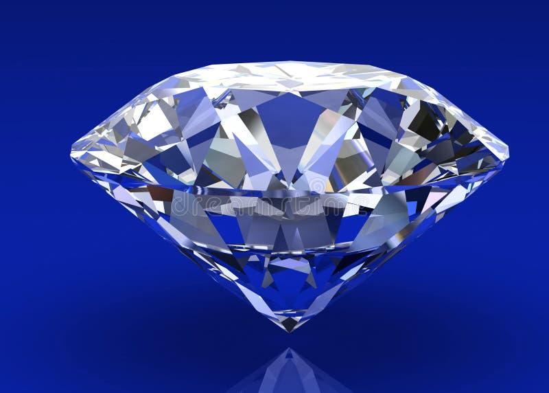 Diamantjuvel royaltyfri illustrationer