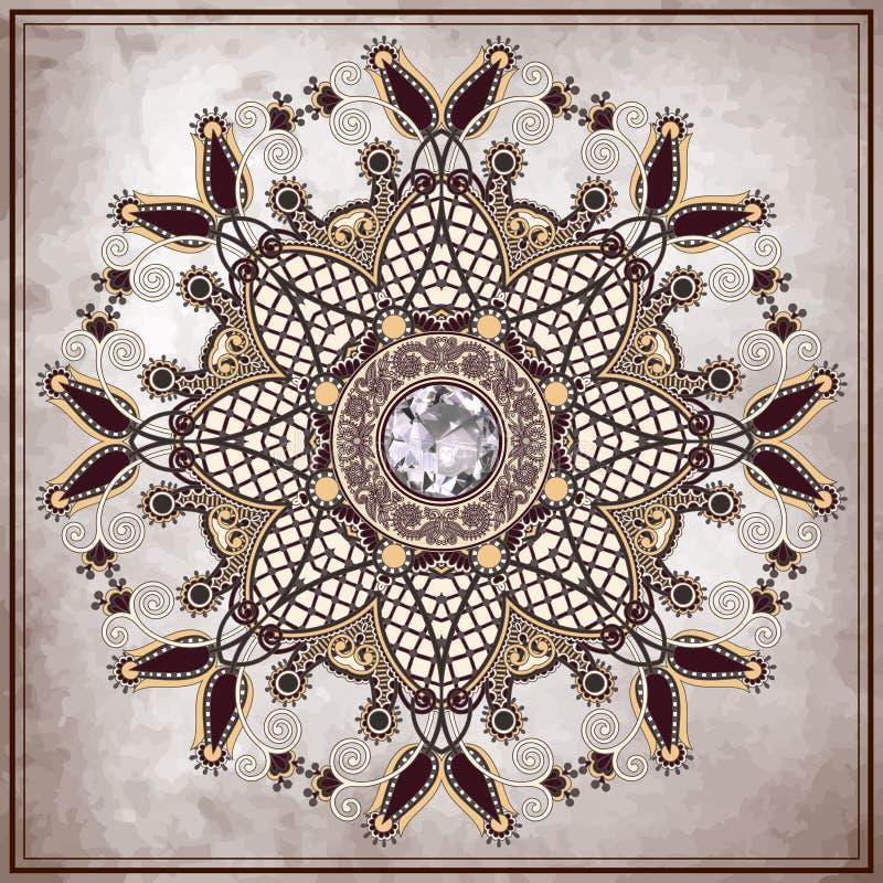 Diamantlyxbakgrund stock illustrationer