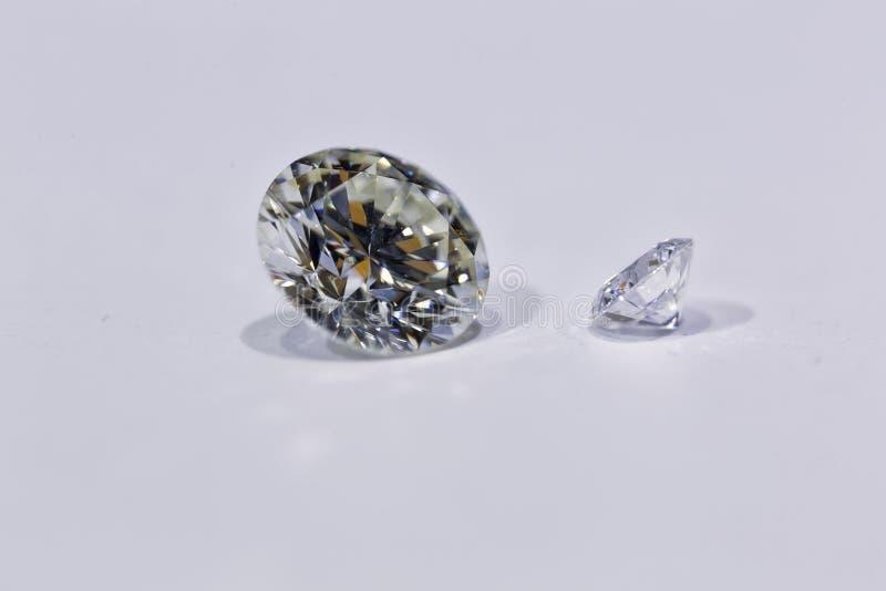 Diamantmicroscoop royalty-vrije stock afbeelding