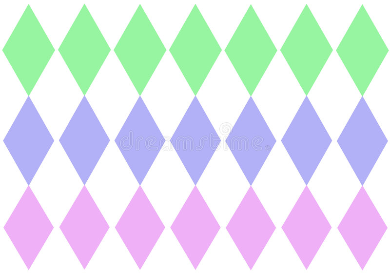 diamantpastelltripe stock illustrationer