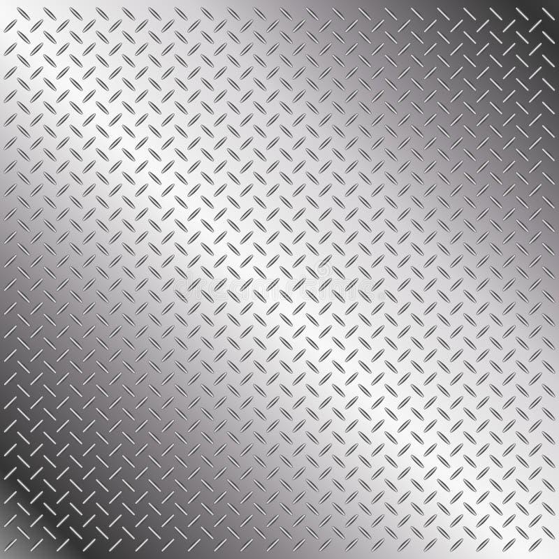 Diamantplatte lizenzfreie abbildung