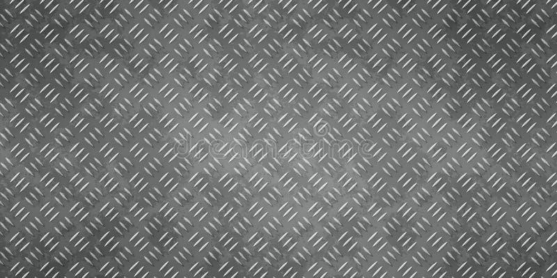 Diamantplatten-Beschaffenheitshintergrund 2 stock abbildung