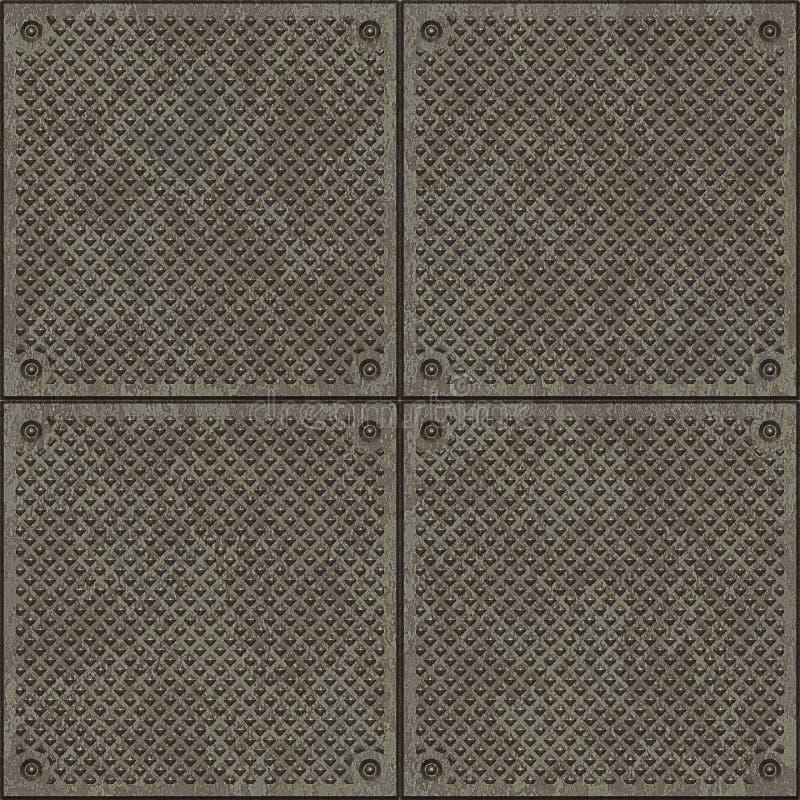 Diamantplatten-Plasterungsbeschaffenheit stock abbildung