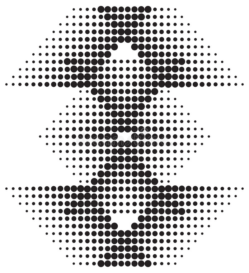 diamantrastermodell vektor illustrationer