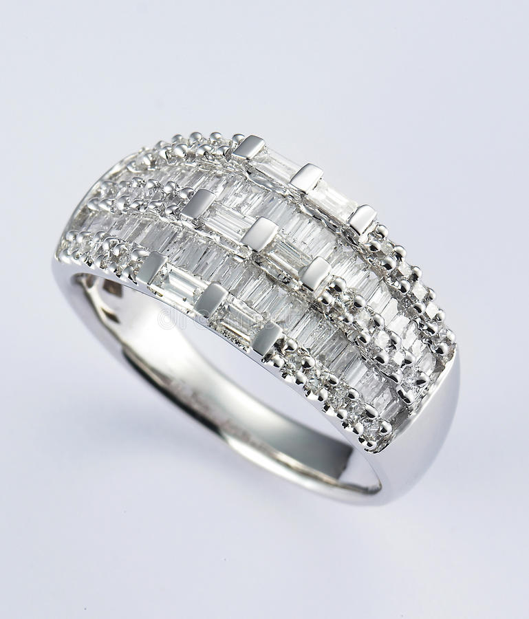 Diamantring stockfotos