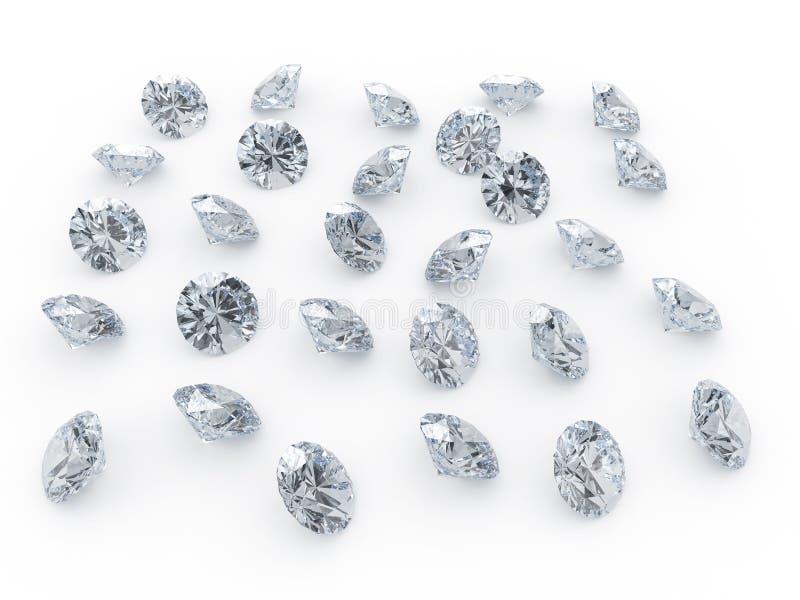 Diamants illustration de vecteur