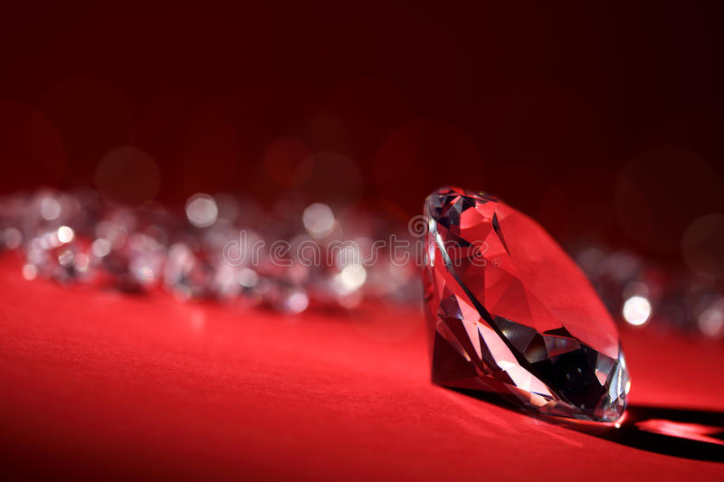 Diamants photo stock