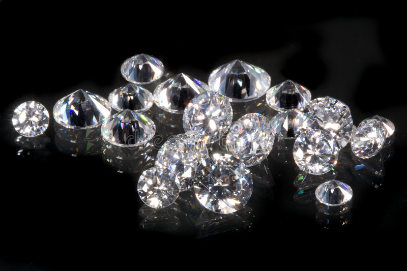 Diamants images libres de droits