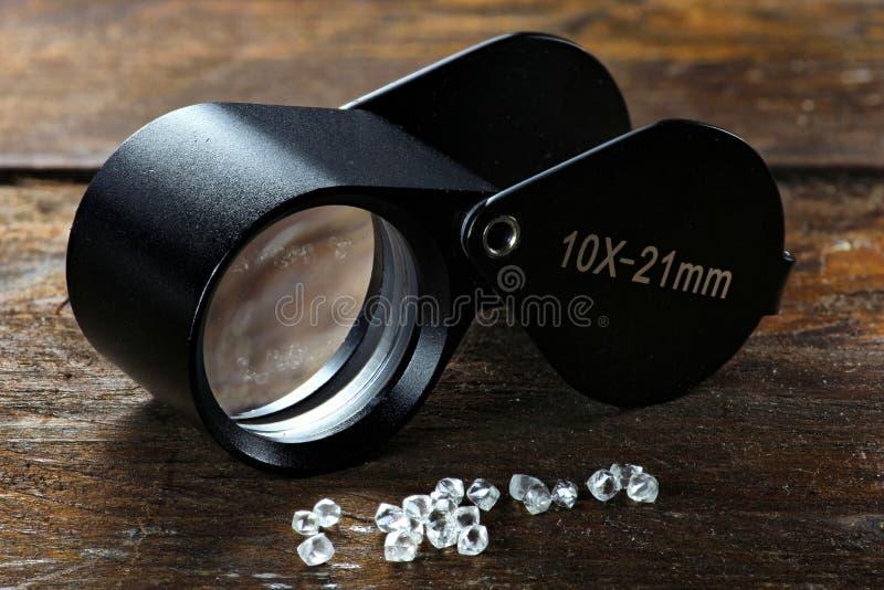 Diamants bruts 04 image stock