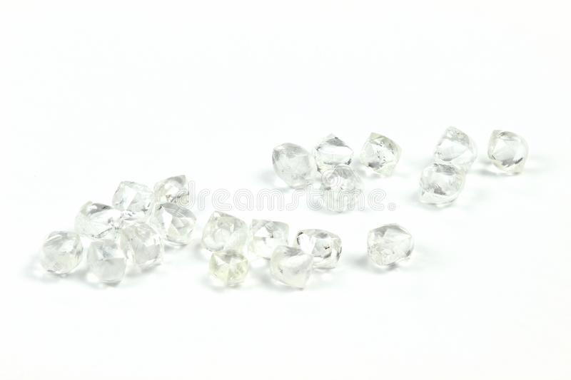 Diamants bruts 09 images stock