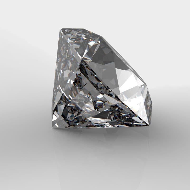 Diamants 3d en composition illustration stock